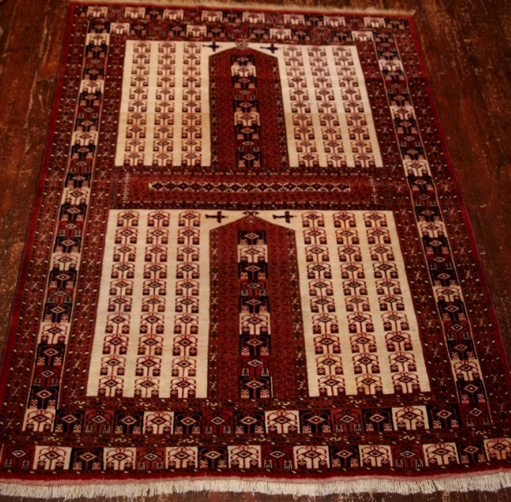 old afghan rug ensi hatchli design unusual with aircraft circa 1980