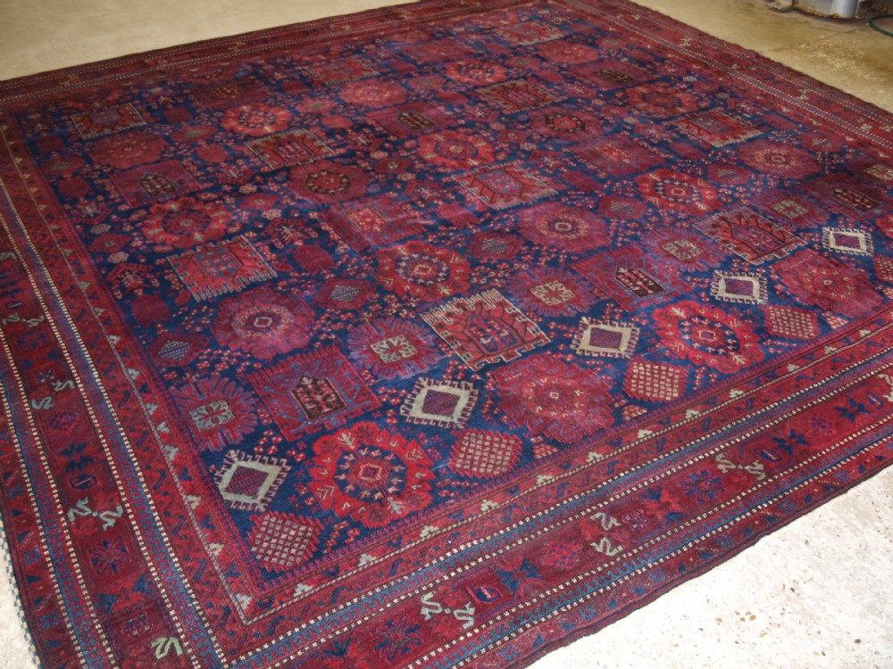 antique jail agra carpet timuri baluch design superb condition late 19th cent