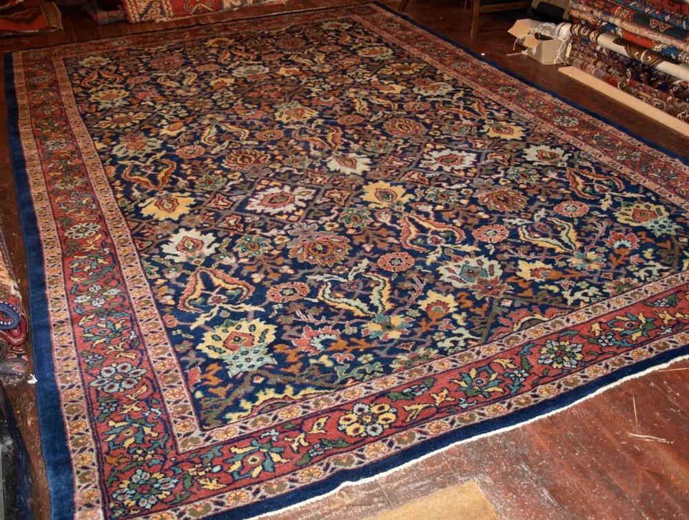 antique ziegler carpet allover design great colour condition late 19th cent