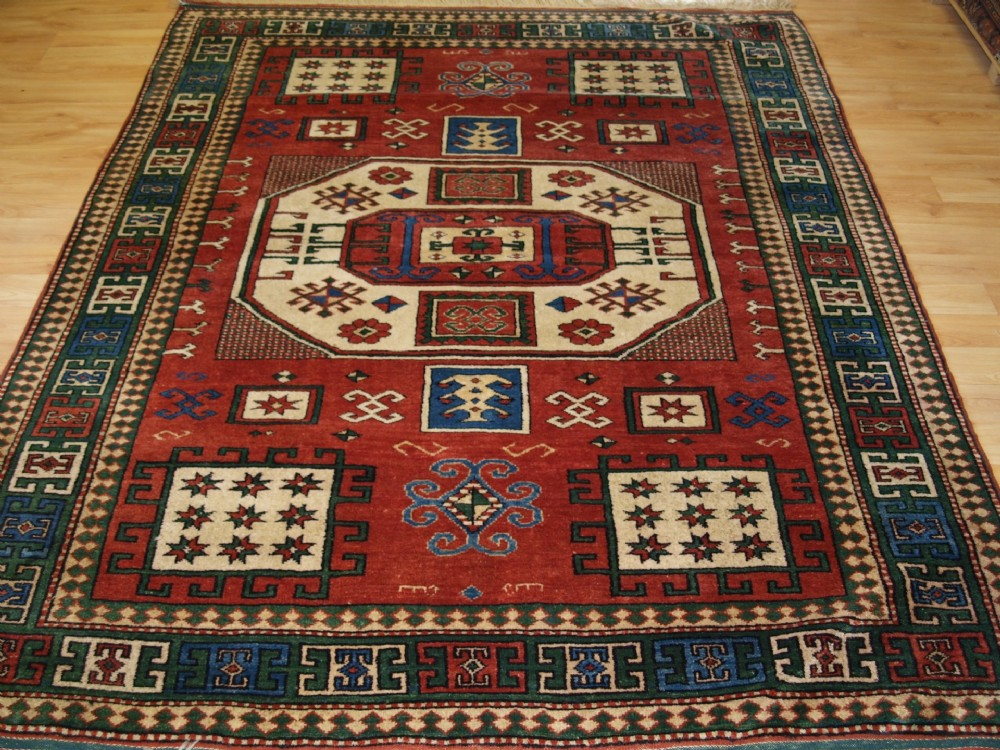 old turkish rug of karachov kazak design excellent furninshing rug abt 30 years old