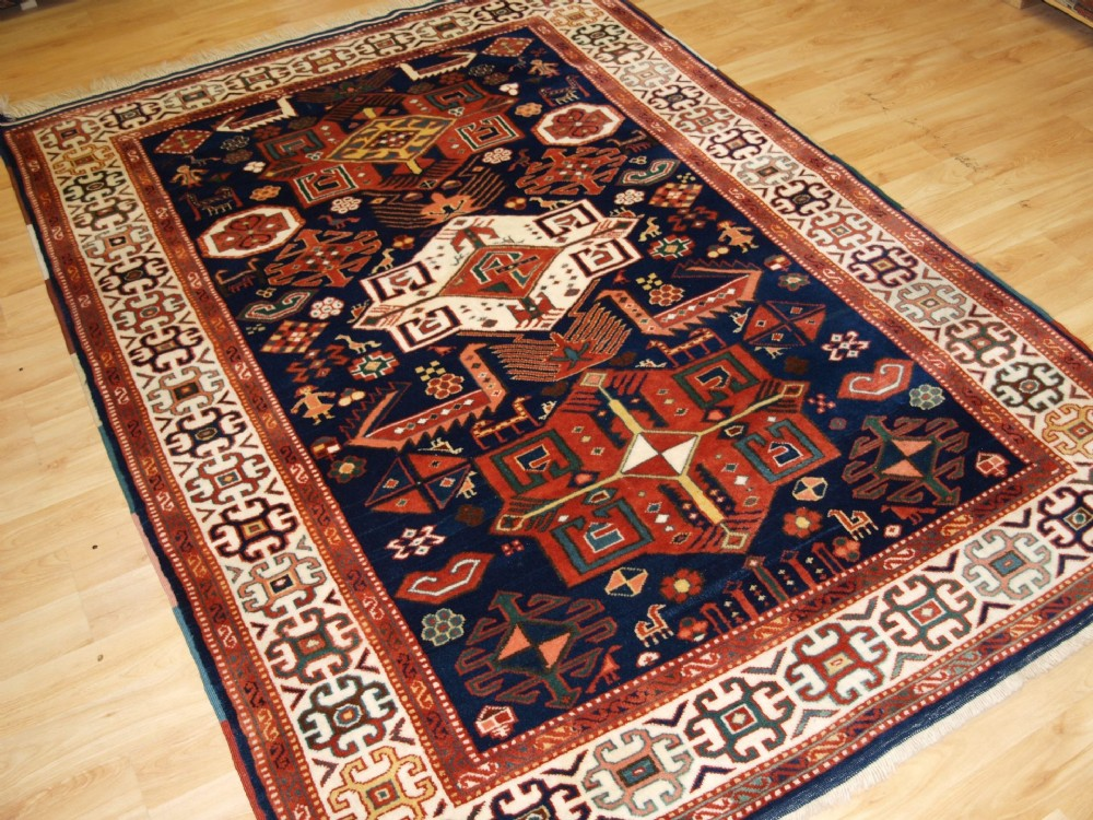 turkish rug or classic caucasian akstafa design great design colour abt 30 years old