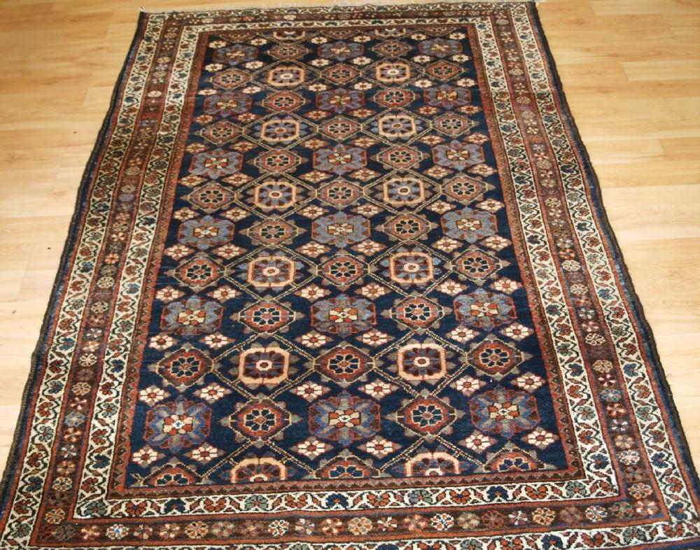 old persian varamin region rug with mina khani design circa 1920
