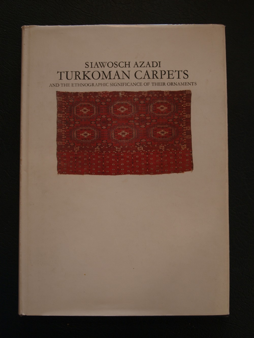 turkoman carpets and the ethnographic significance of their ornaments