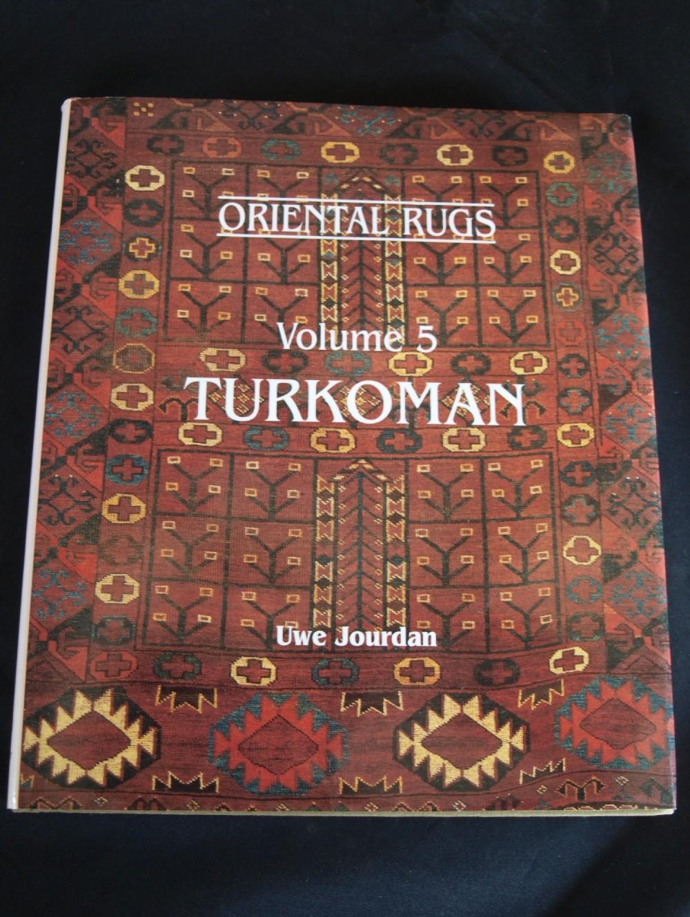 oriental rugs volume 5 turkoman