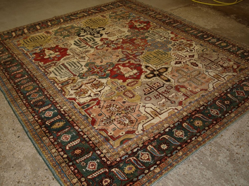 hand knotted turkish carpet classic design natural dyes woven ledgend production about 10 years old