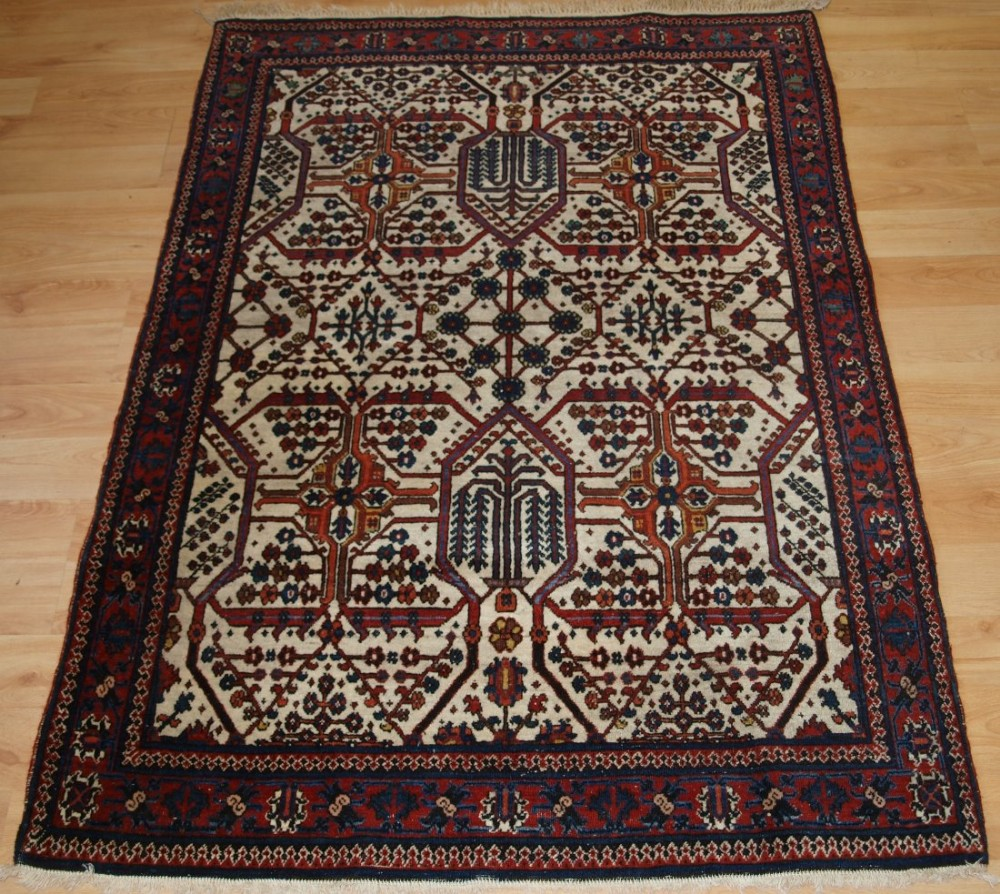 Antique Oriental Rugs Uk: Antique North West Persian Joshaghan Rug With Unusual
