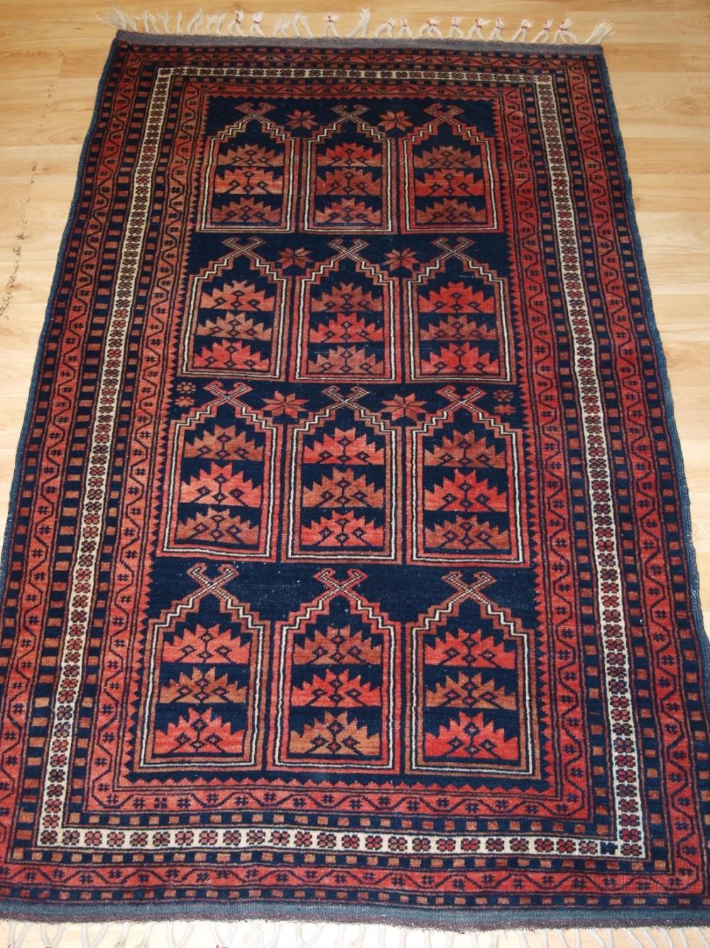 old turkish anatolian yagcebedir rug unusual prayer niche design circa 1920