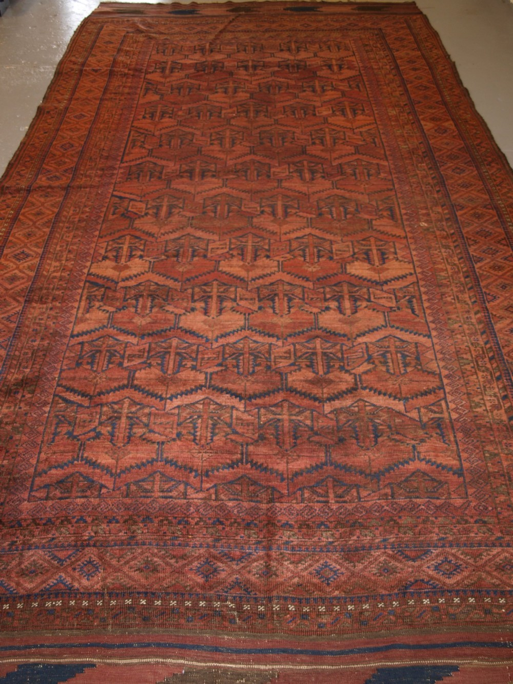 antique baluch main carpet chakhansur region south east afghanistan late 19th century
