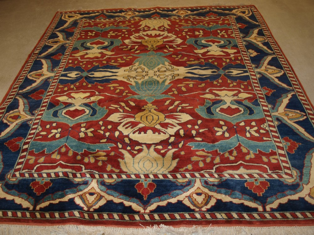 turkish konya oushak design carpet high quality modern turkish production superb colour new and unused