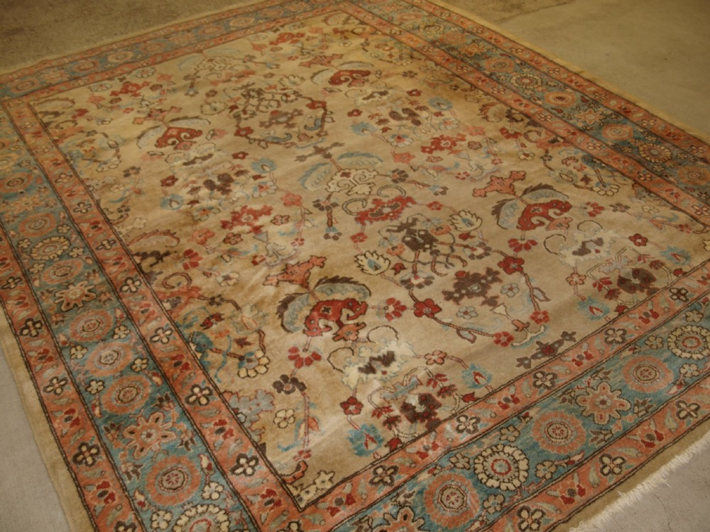 turkish oushak design carpet high quality modern turkish production superb colour about 10 years old