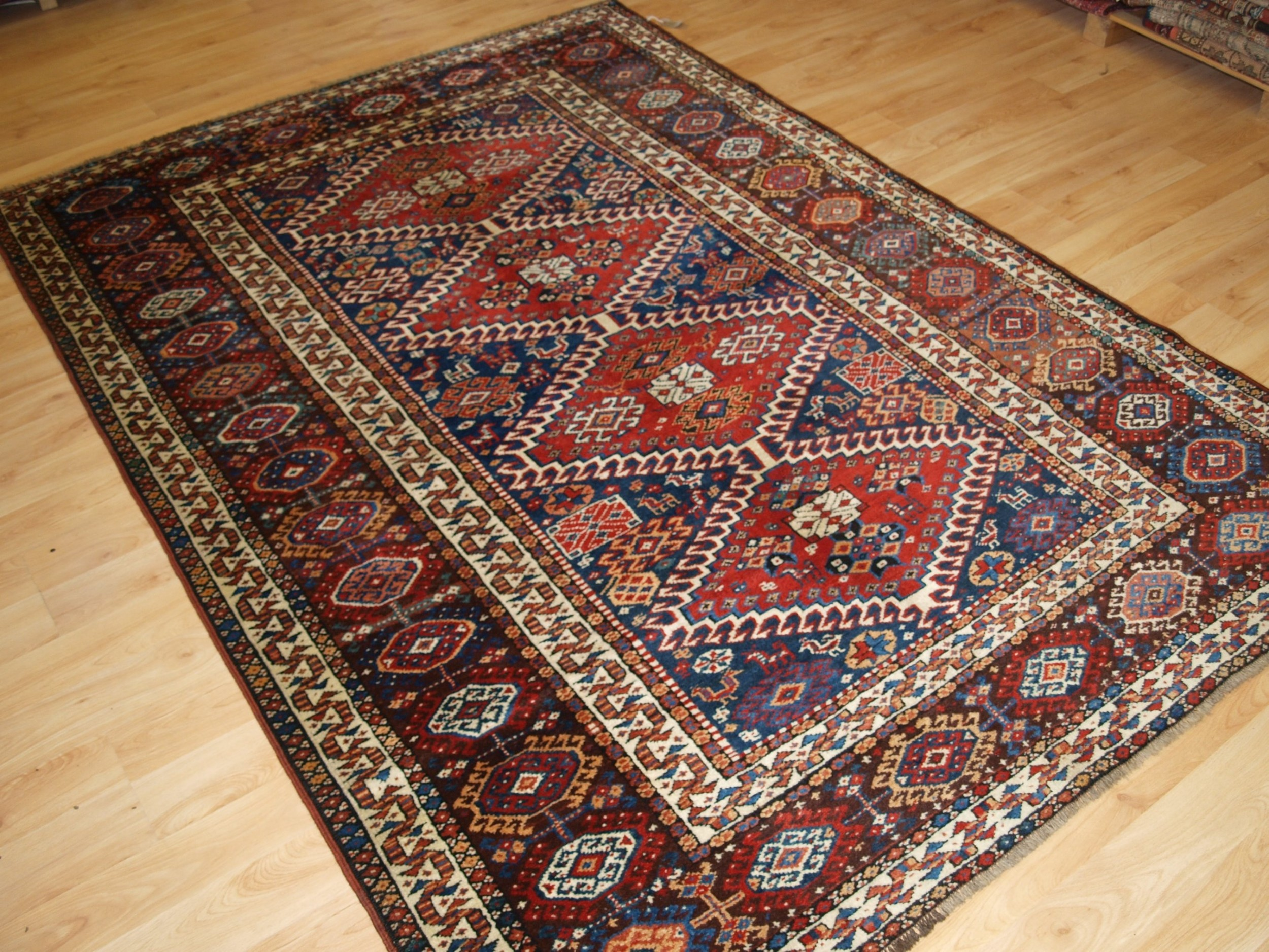 antique south west persian rug by the luri trib outstanding condition circa 1900