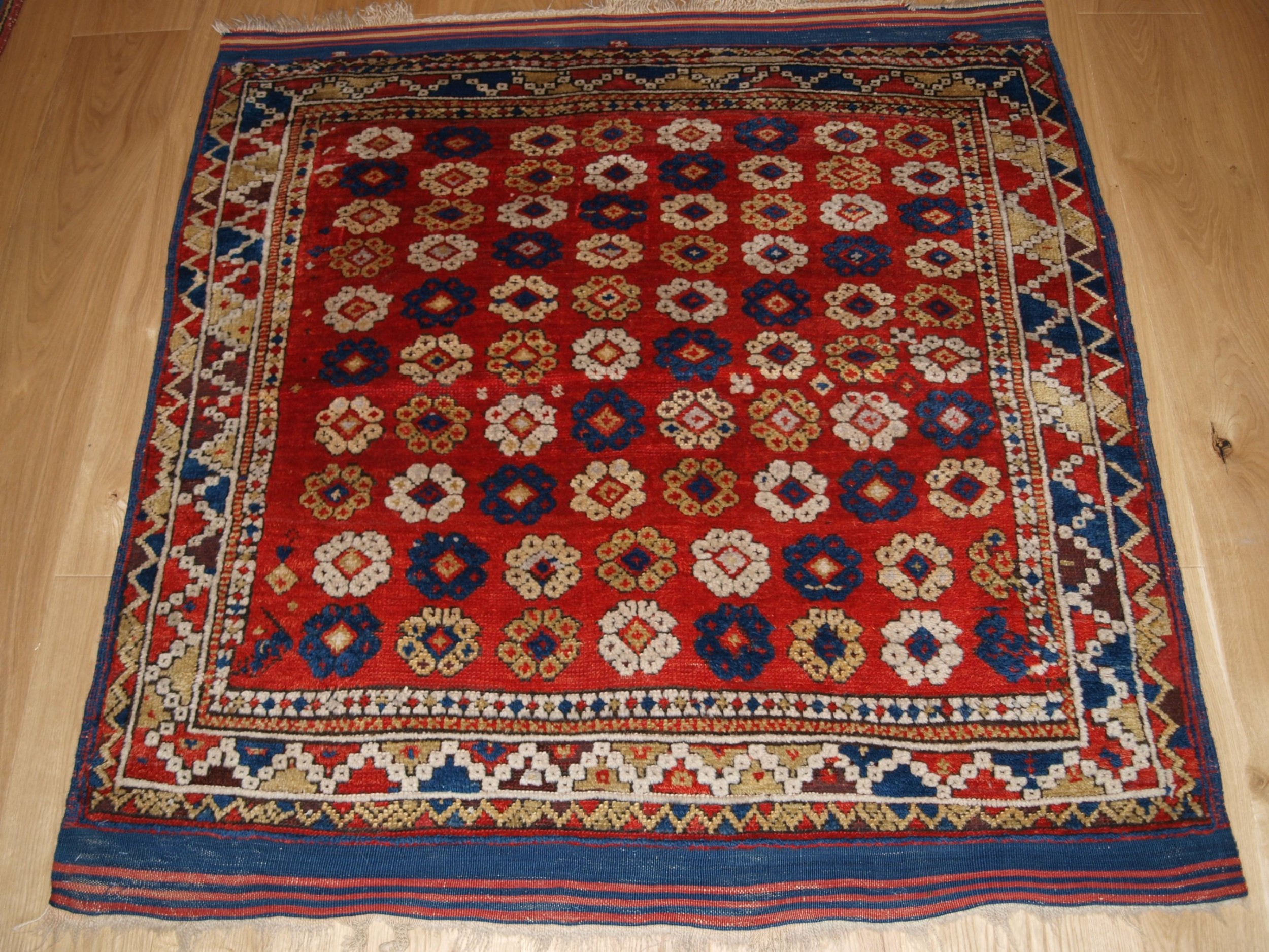 arrow down blau rugs silk rug by turkish hereke doris leslie antique