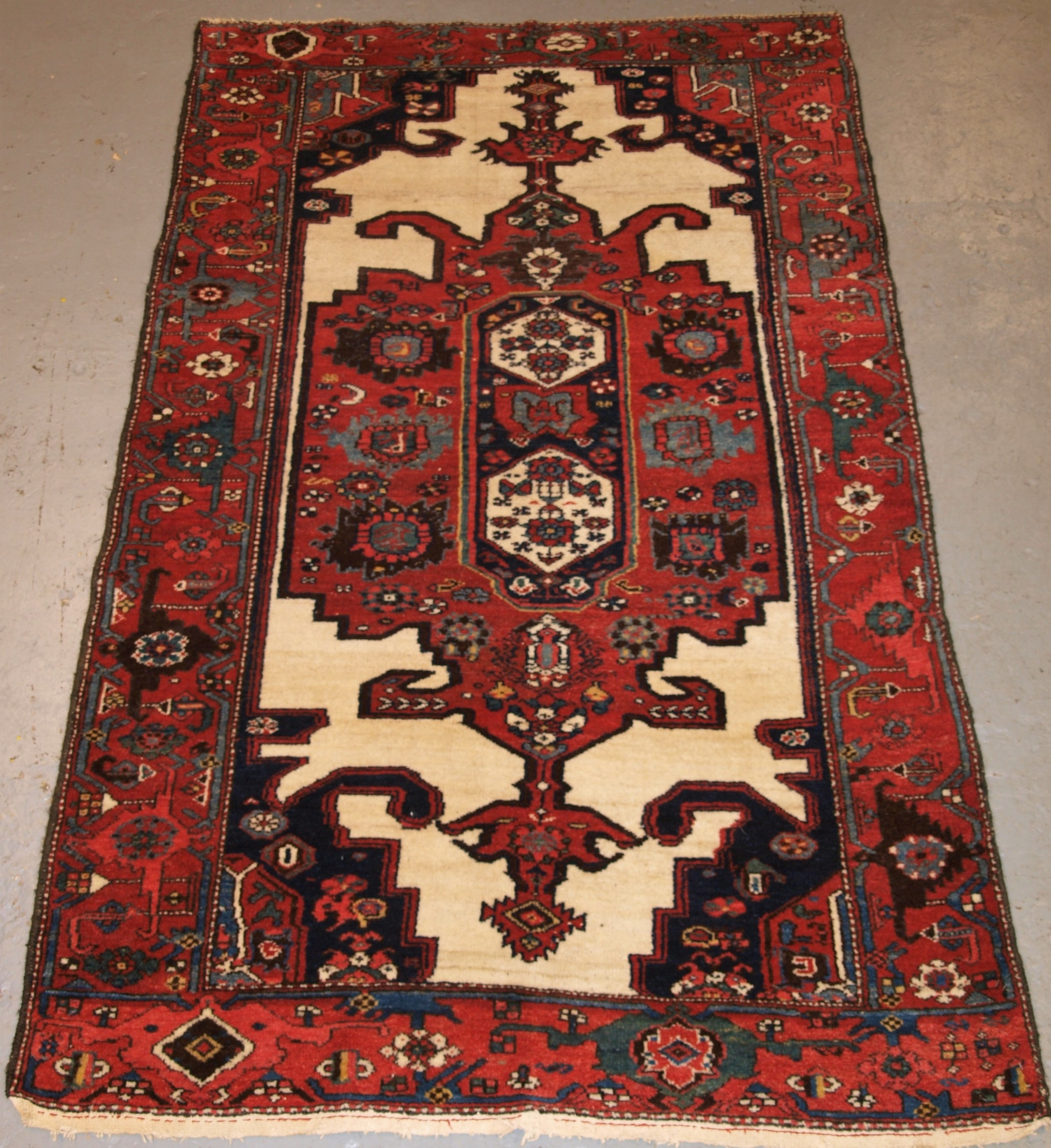 old north west persian kurdish rug good design hard wearing rug circa 1920
