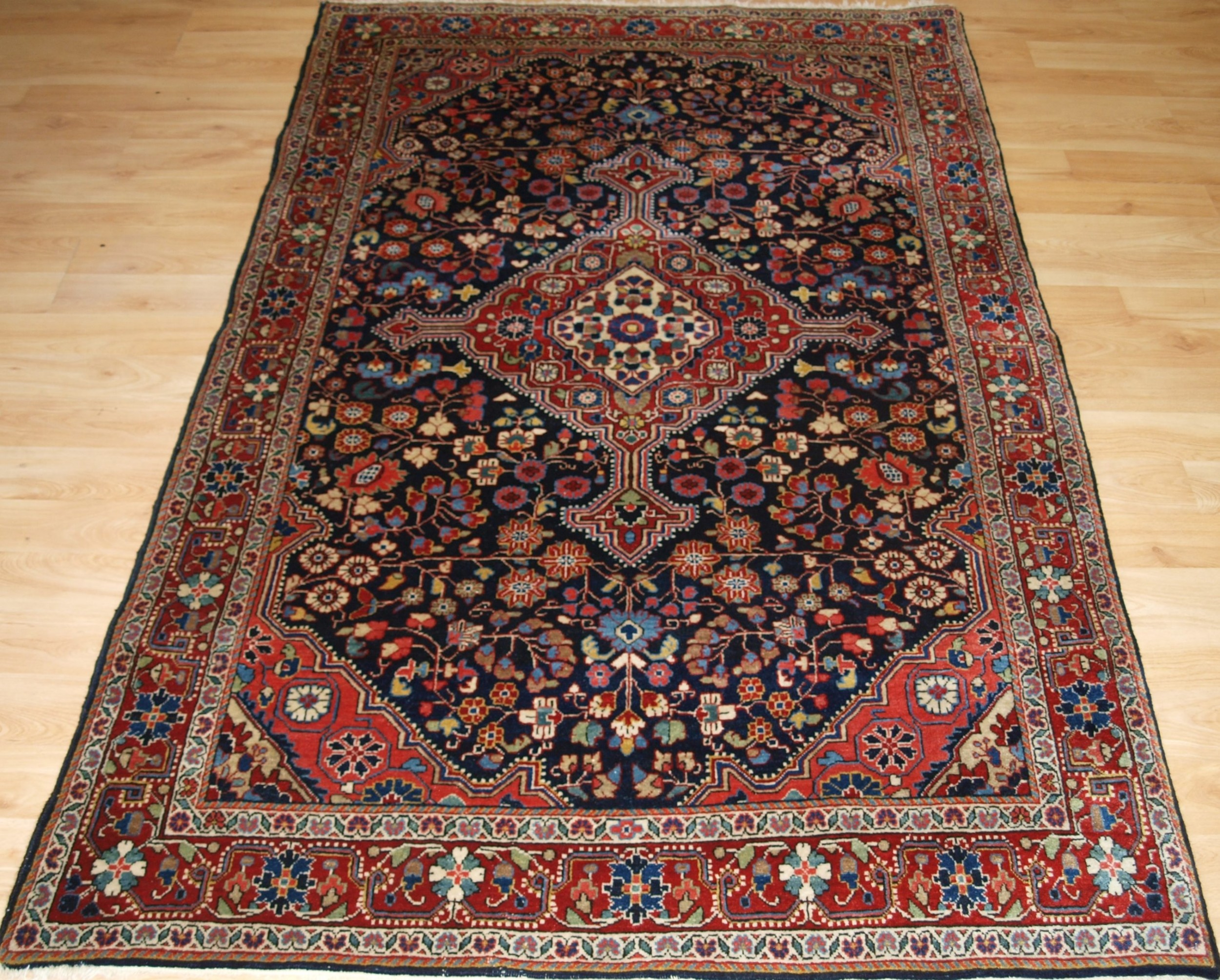 old jozan village rug great condition circa 1920