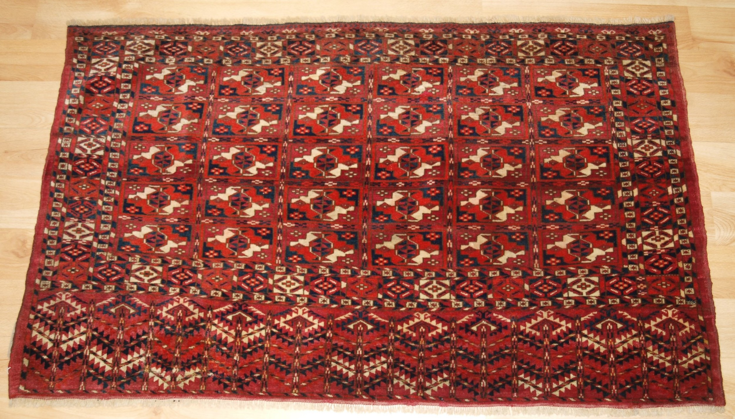 antique tekke turkmen chuval fine weave excellent condition late 19th centuruy