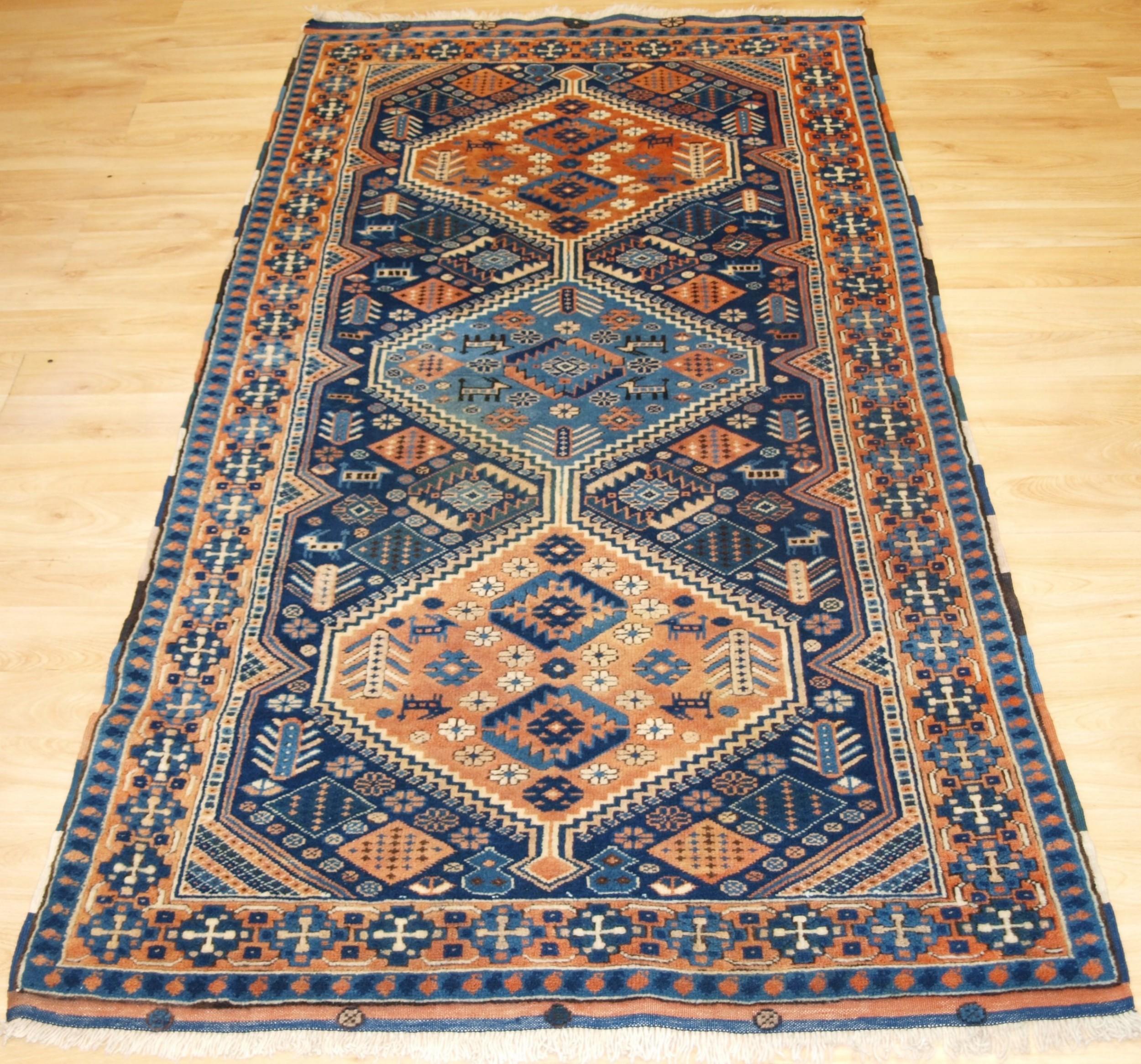 old turkish yagcebedir village rug with caucasian shirvan design circa 1930