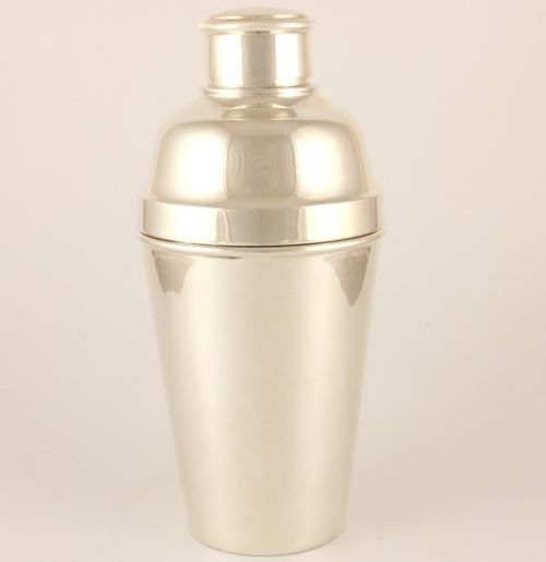 toledo argentina silver plated cocktail shaker