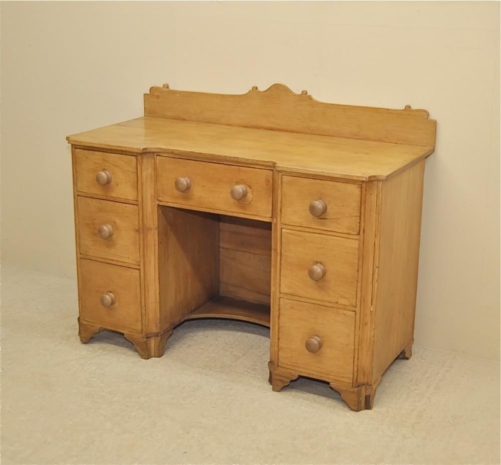 antique pine desk - Antique Pine Desk 249324 Sellingantiques.co.uk