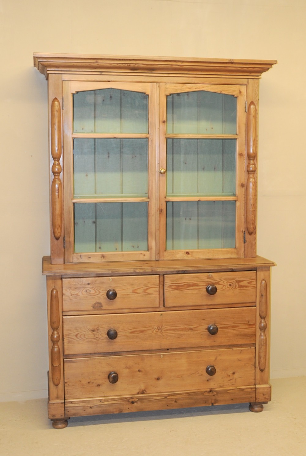 Kitchen Dresser Antique Pine Kitchen Dresser 263410 Sellingantiquescouk