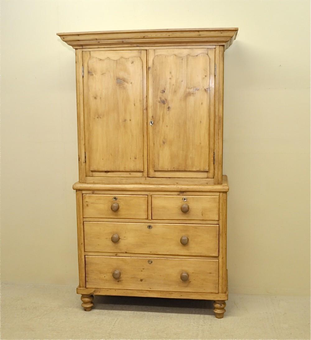 Home Antique Cupboards Antique Linen Cupboards Item Number 248905