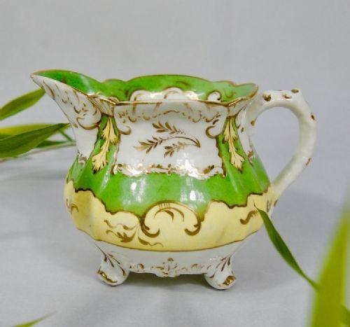 rockingham creamermilk jug dating 18301835