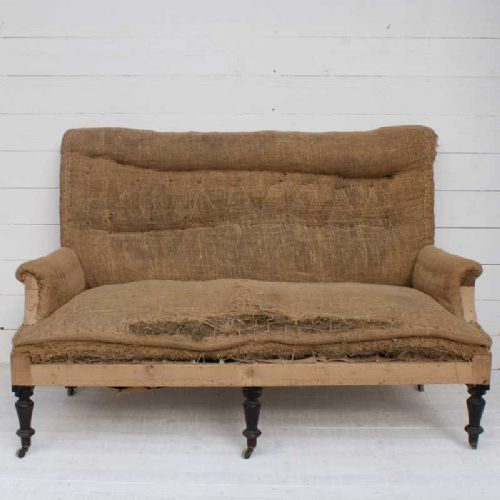Antique Sofa Reupholstery Cost: Antique French Sofa For Reupholstery