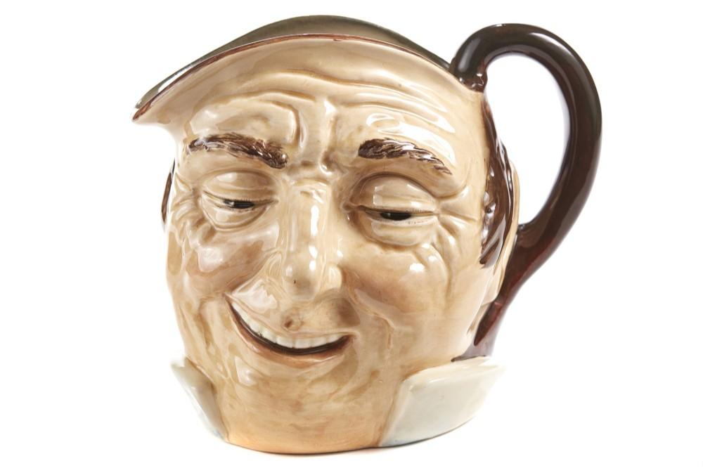 character 'farmer john' toby jug by royal doulton