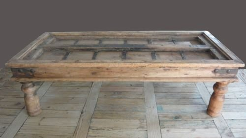 Lovely Antique Indian Oak Coffee Table