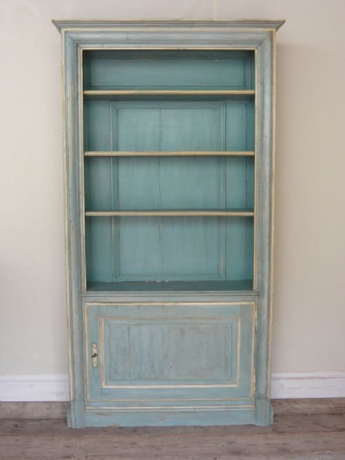 An Outstanding French Painted Bookcase Of Louis Xv Style 78203 Sellingantiques Co Uk