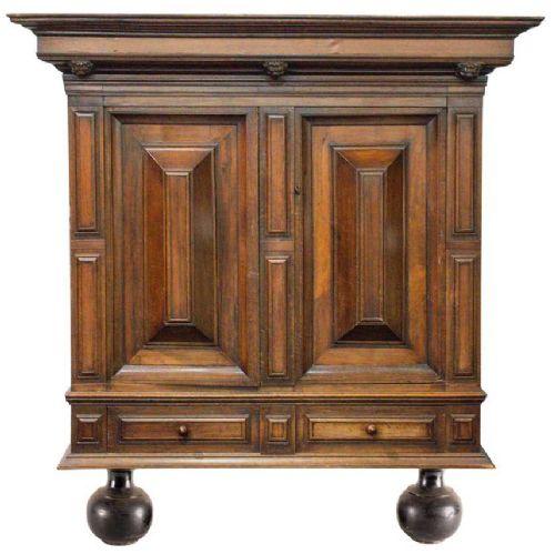 18th century dutch oak renaissance armoire