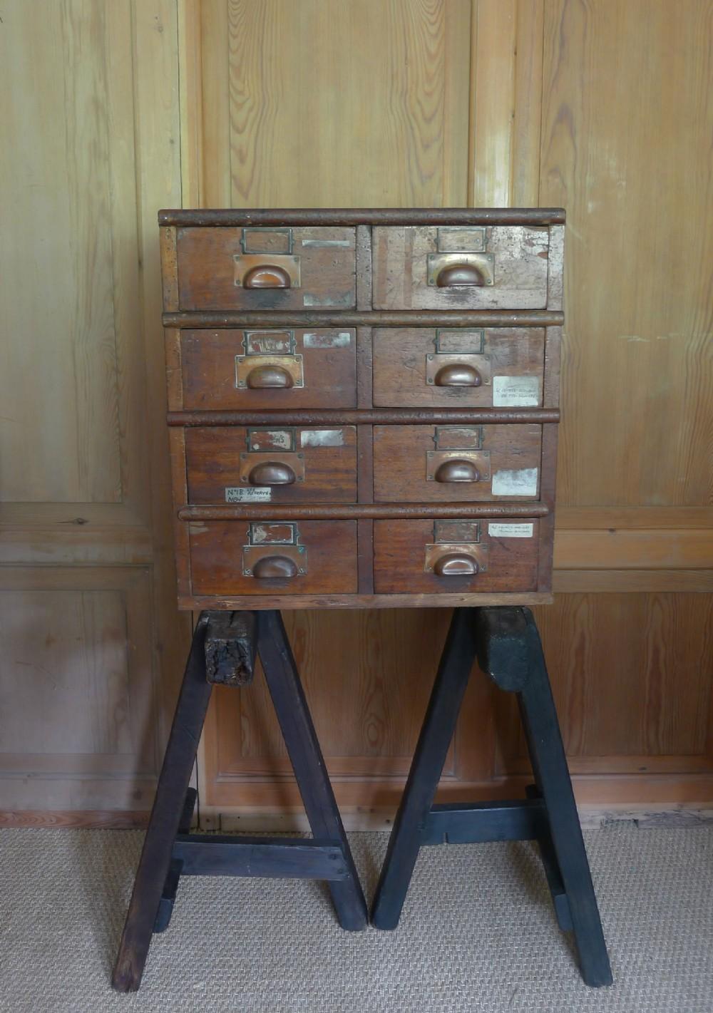 apothecarychemist drawers