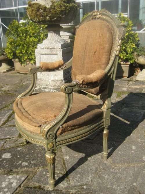 french armchair - photo angle #2