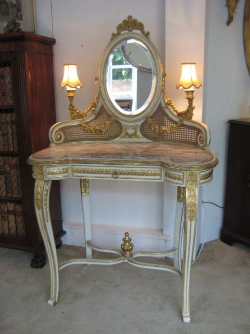 19th century french dressing table 170065 - Antique Vanity Dressing Table 1880