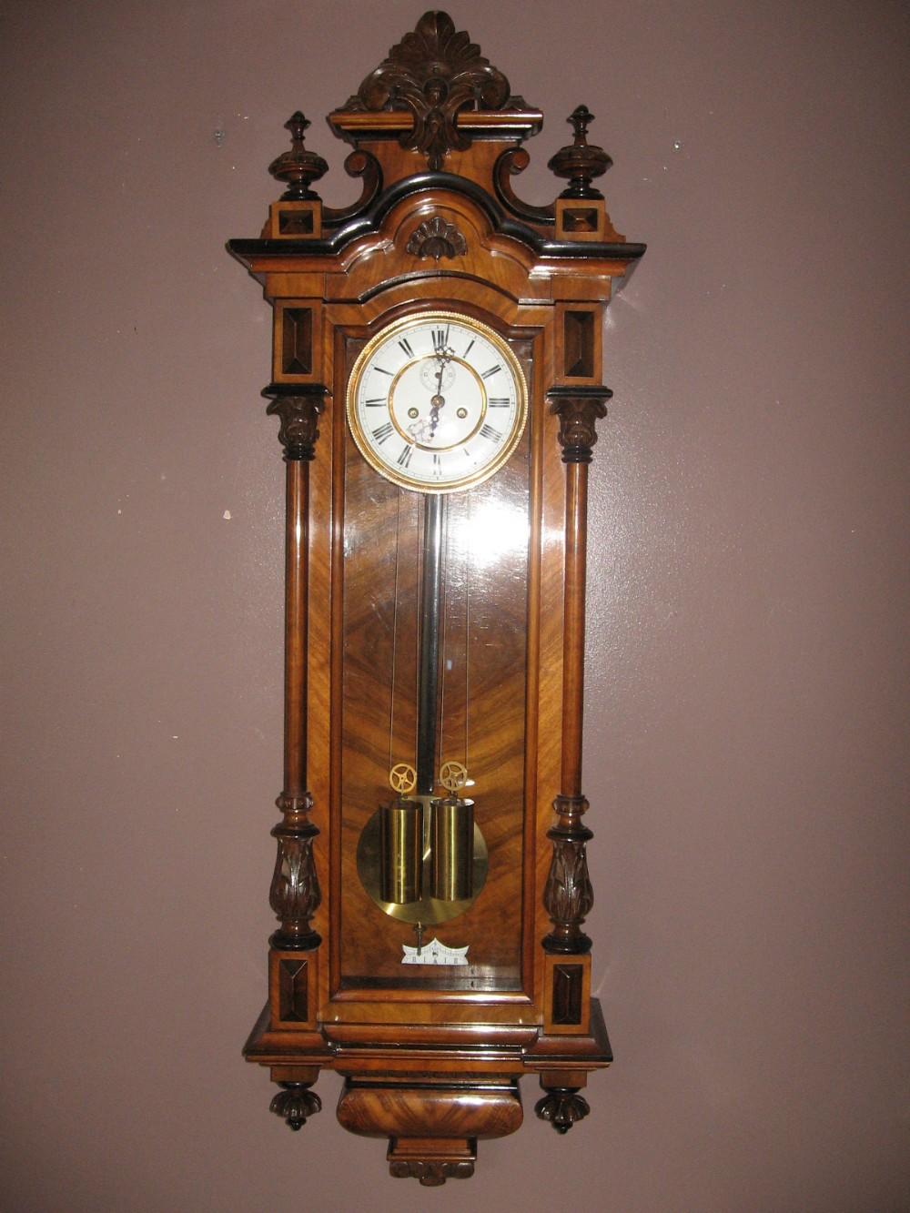 Vienna Wall Clock 256785 Sellingantiques Co Uk