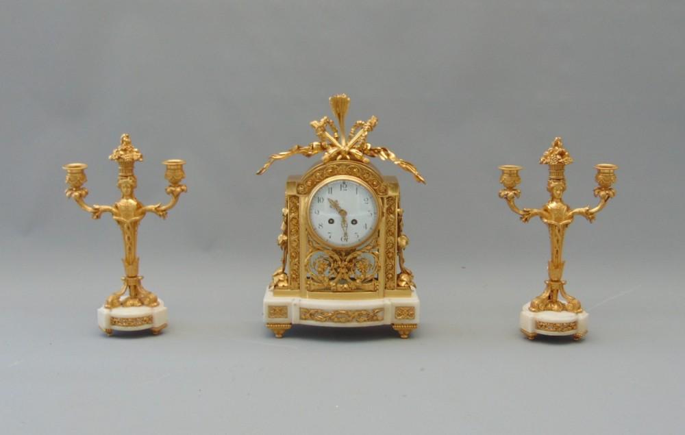 ormolu clock set