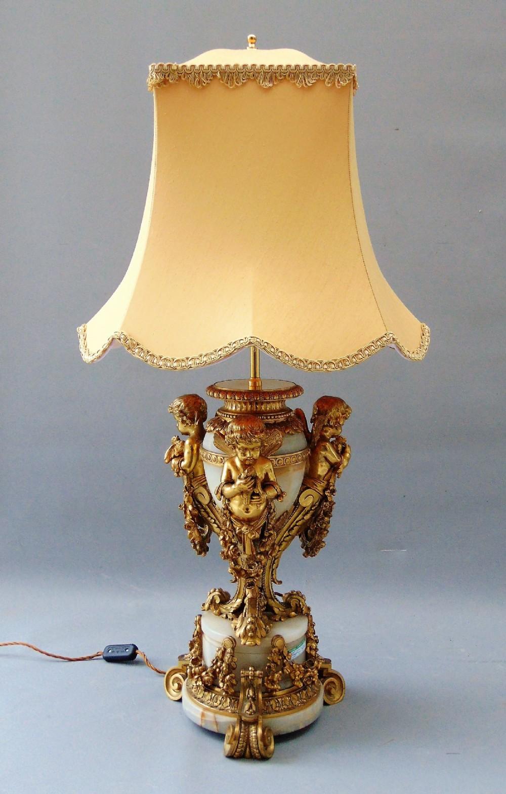 A High Quality Ormolu Table Lamp   590969 ...