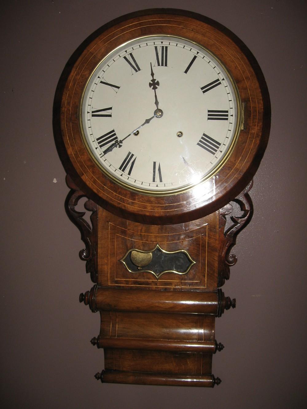 Drop Dial Wall Clock 234305