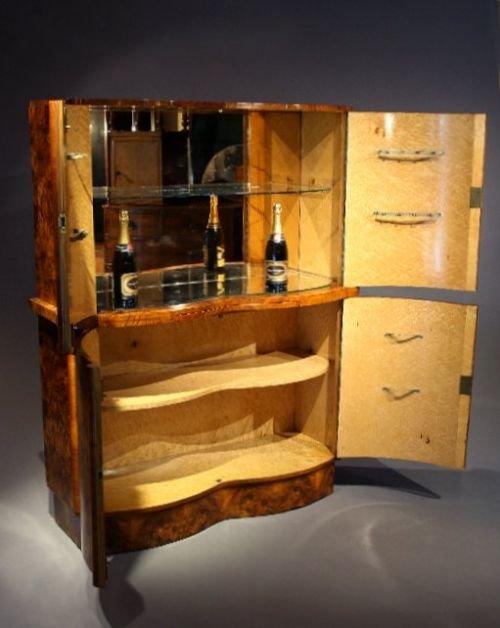 Art Deco Drinks Cabinet 170575 Sellingantiques Co Uk