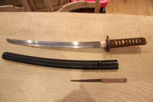 Japanese Samurai Wakizashi Sword Circa 1610 | 104204 ...