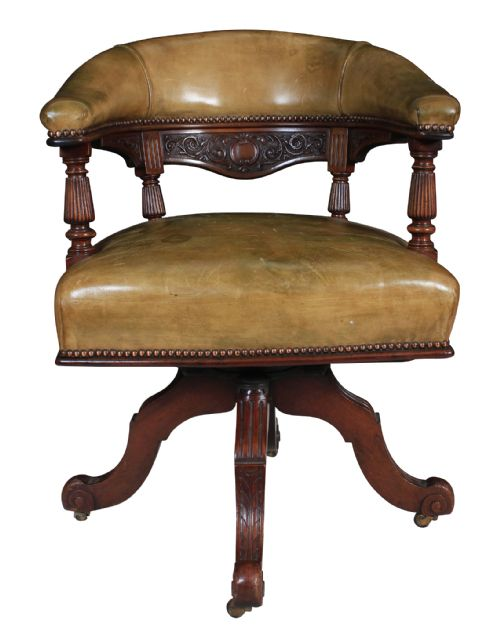 Dated 1880 - Antique Swivel Chairs - The UK's Largest Antiques Website