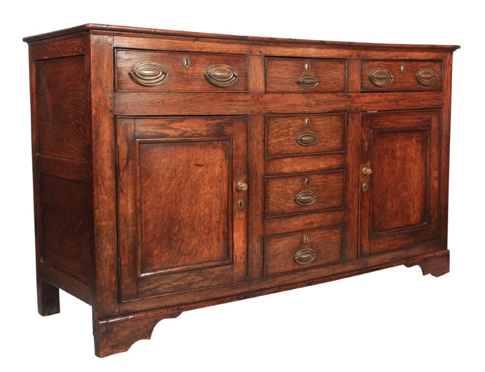 18th century oak dresser sideboard