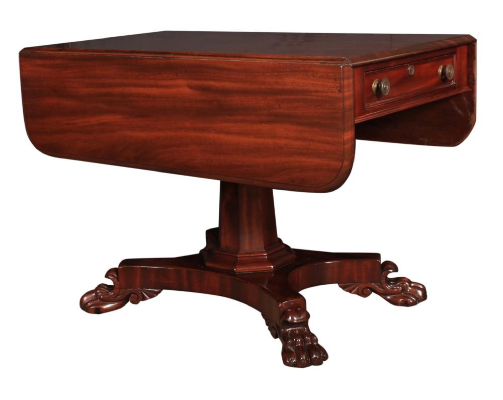 william iv mahogany pembroke table