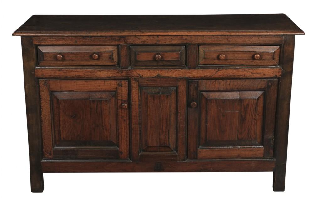 18th century solid oak dresser sideboard