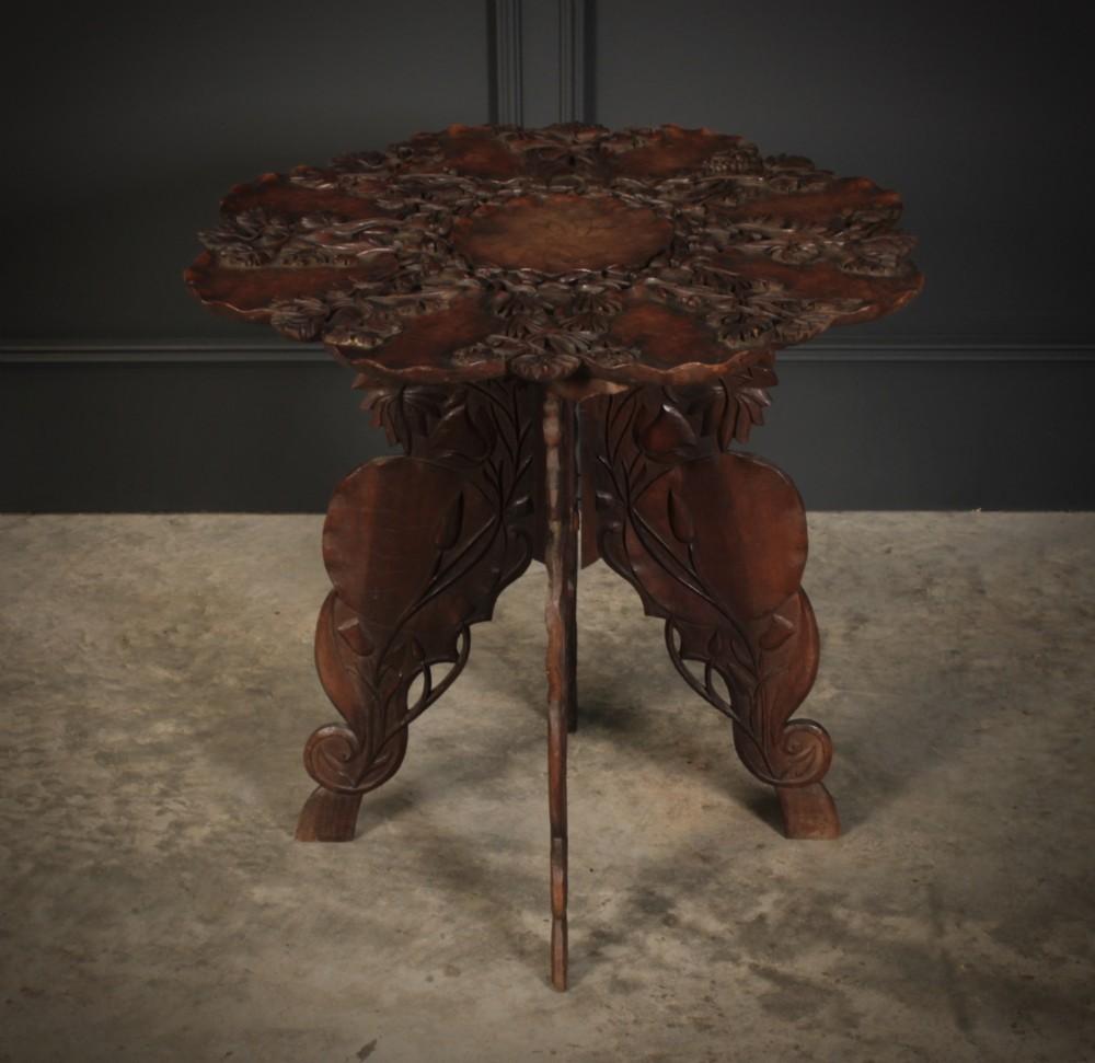 walnut kashmiri table
