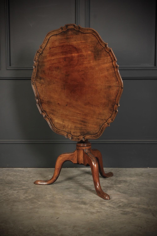 georgian mahogany tip top table