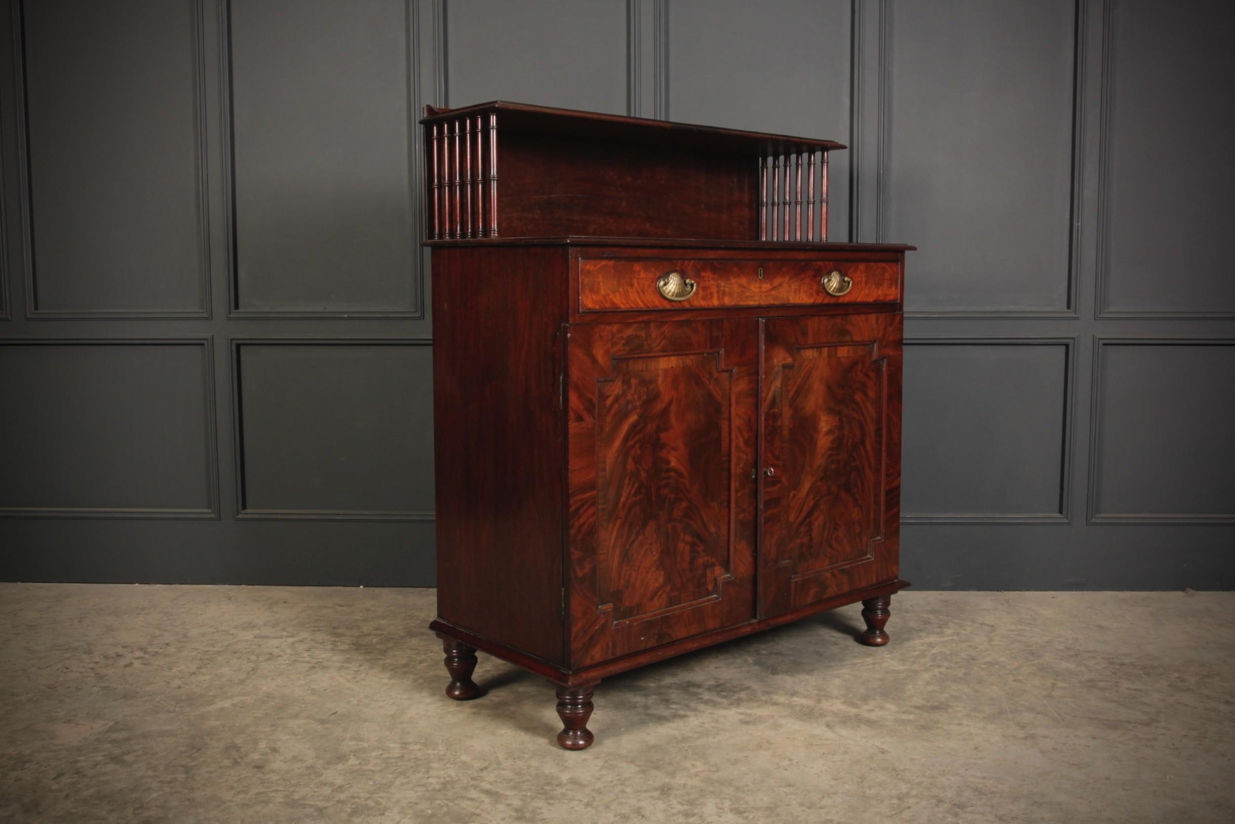 regency mahogany chiffonier