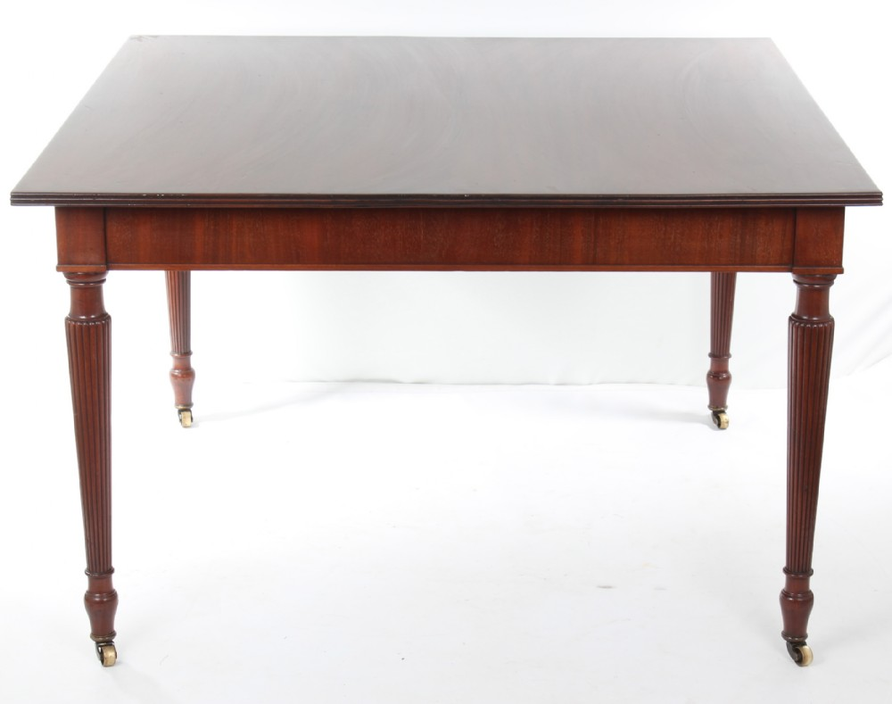 Late Victorian Square Dining Table 4ft Square