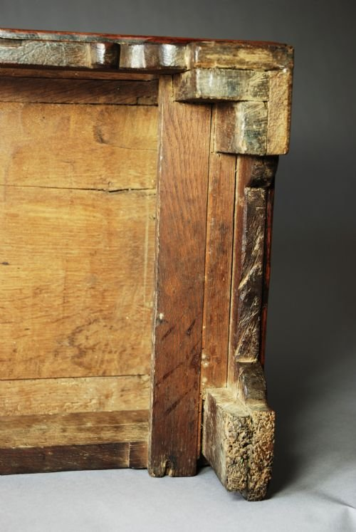 18thc oak coffer bach - photo angle #5