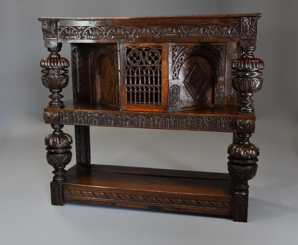 superb oak livery cupboard of very good proportions and wonderful patina
