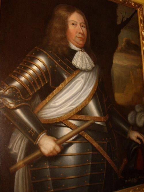 david 2nd earl wemyss circle david scougall 17thc oil portrait painting